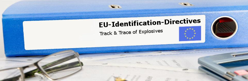 Implementation of the EU-directive for tracking and tracing of explosives with TTE